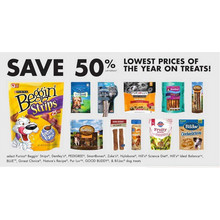 Dentley's Dog Treats (Select) - 50% Off