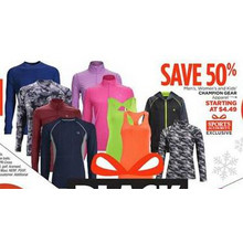 Champion Gear Womens Apparel - Starting at $4.49