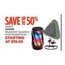 Ihome Bluetooth Speakers and Headphones