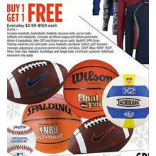 Sports Balls (Assorted) - BOGO Free