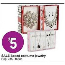 Boxed Costume Jewelry