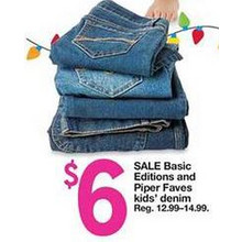 Basic Editions Kids Denim