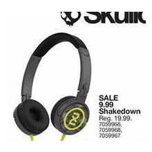 Skullcandy Shakedown Headphones (Assorted)