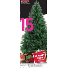 Trim A Home 6-ft. Unlit Dakota Spruce Tree