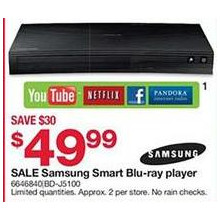 Samsung Smart Blu-ray Player