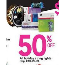 Holiday String Lights (Assorted) - 50% Off