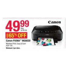 Canon Pixma Printer & Scanner (MG6620)
