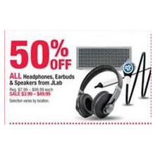 JLab Speakers 50% OFF