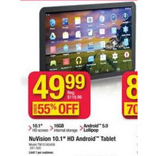 "NuVision 10.1"" HD Android Tablet"