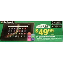 "Polaroid 9"" 64GB Tablet"