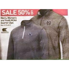 Colosseum NCAA Youth Quarter-Zip 50% Off