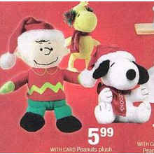 Peanuts Plush (Assorted)