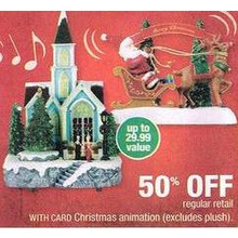 Christmas Animations (Select) 50% Off