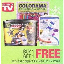 Select As Seen On TV Items BOGO Free
