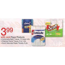 Cottonelle Bath Tissue (12-pk.)