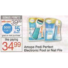 Amope Pedi Perfect Electronic Nail File