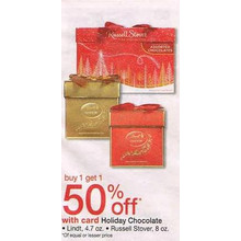 Lindt Chocolate (4.7-oz.) BOGO 50% Off