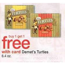 Demets Turtles (6.4-oz.) BOGO Free