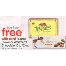 Whitmans Chocolate (12-oz.) BOGO Free