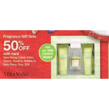 Vera Wang Fragrance Gift Sets 50% Off