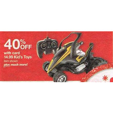 Kids Toys Regularly Priced $14.99 (Assorted) 40% Off
