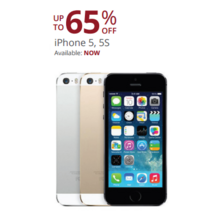 Apple iPhone 5 (Black) Up to 65% Off