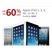 Apple iPad 2 Up to 60% Off
