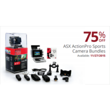 ASX ActionPro Sports Camera Bundles 75% Off