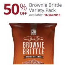 Brown Brittle Variety Pack 50% Off