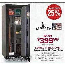 Liberty Revolution Gun Safe