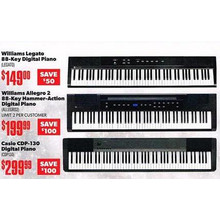 Williams Allegro 2 88-Key Hammer-Action Digital Piano