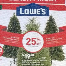 Fresh Cut 6-ft. Christmas Trees 25% Off