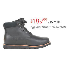 Ugg Mens Seton TL Leather Boots