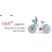 Micargi Elite Girls 20-in. BMX Style Bike