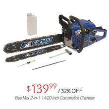 Blue Max 2-in-1 14/20-in. Combination Chainsaw