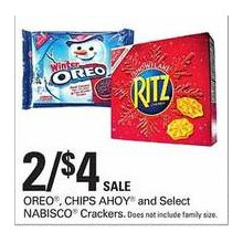 Chips Ahoy 2 FOR $4.00