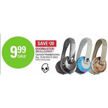 Skullcandy Uprock Headphones (Blue/Gray)