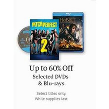 DVDs (Select) - Up To 60% Off
