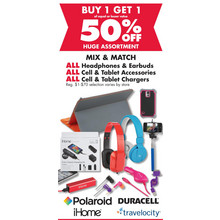 Tablet Accessories (Assorted) BOGO 50% Off