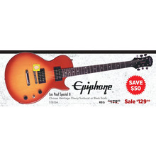 Epiphone Les Paul Special II Electric Guitar Heritage Cherry Sunburst