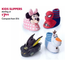 Kids Slippers - From $7.99
