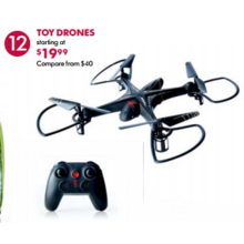 Toy Drones (Assorted) - From $19.99