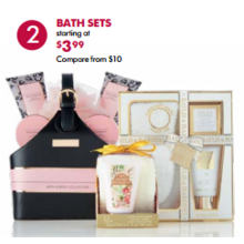 Bath Sets (Assorted) - From $3.99
