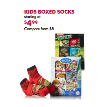 Kids Boxed Socks - From $4.99