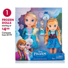 Frozen Dolls (Assorted) - From $4.99
