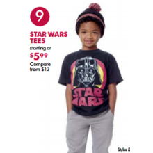 Star Wars Tees (Assorted) - From $5.99