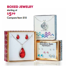 Boxed Jewelry - From $5.99