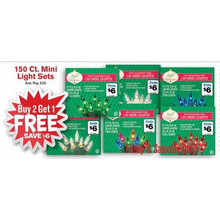 Mini Light Sets 150-ct. - B2G1 FREE