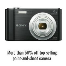 Top-Selling Point-and-Shoot Camera Over 50% Off