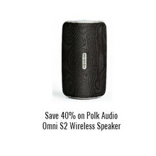 Polk Audio Omni S2 Wireless Speaker 40% Off